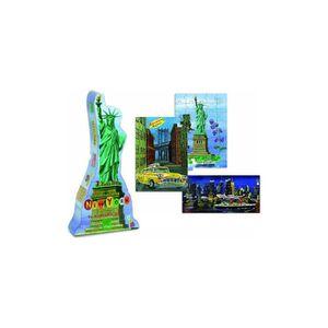 PUZZLE Coffret De 3 Puzzles Enfant : New-York 40 Et 60 Pi