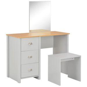 COIFFEUSE Luxueux Magnifique-Coiffeuse avec miroir Table de