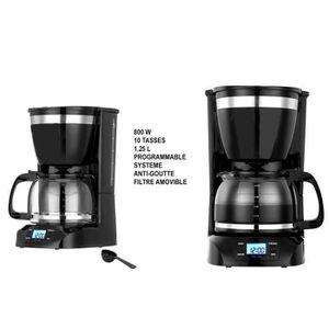 CAFETIÈRE Cafetière éléctrique programmable 1,25 L