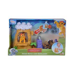 FIGURINE - PERSONNAGE Coffret Disney : Kion Avec Le Rocher du Lion Et Le