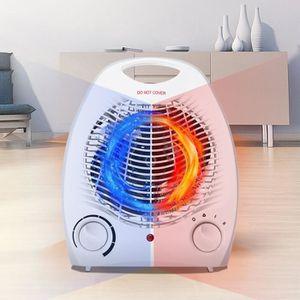 RADIATEUR D'APPOINT 2000W Electrique Chauffage Ventilateur Air Froid R
