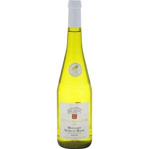 VIN BLANC CHÂTEAU DE LA CANTRIE Muscadet sèvre-et-maine Vin