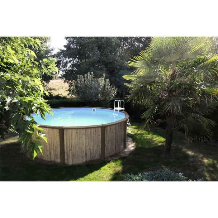 Freedom piscine hors sol 4 57m achat vente kit for Piscine sunbay