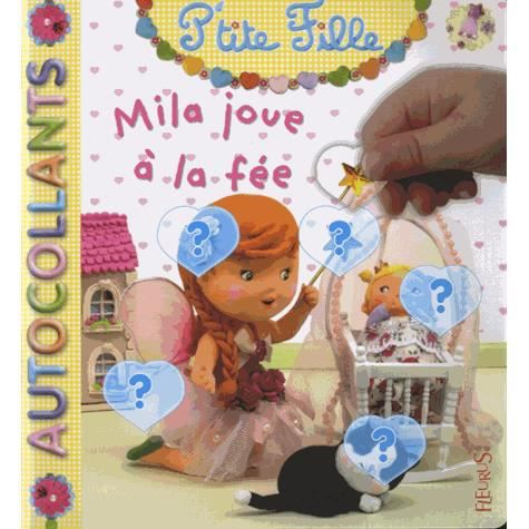 Coloriage La Fee Coquillette.Mila Joue A La Fee