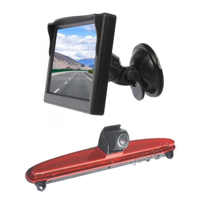Caméra de recul & moniteur de vue arrière à ventouse pour Iveco Daily Van (2014-2021)