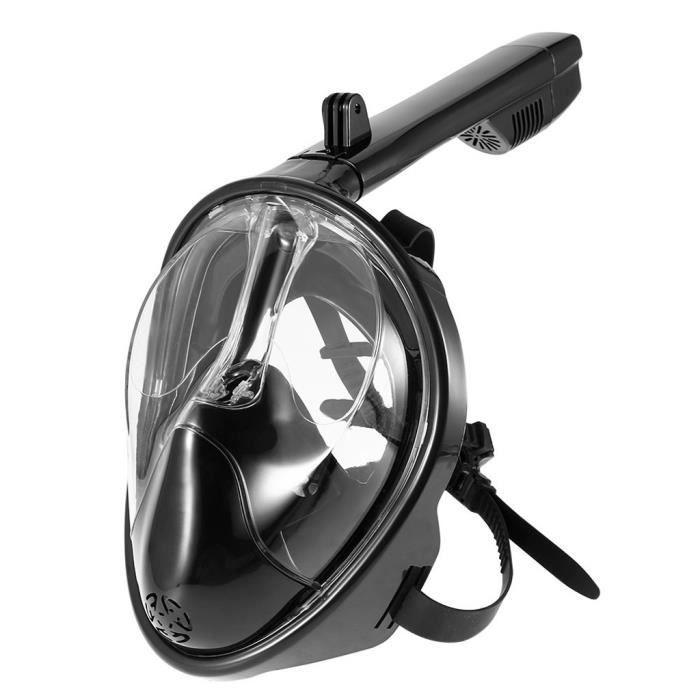 Pliable Anti brouillard Masque de plongée sous-marine entièrement sec Natation masque facial Snorkeling outil Accessoires de