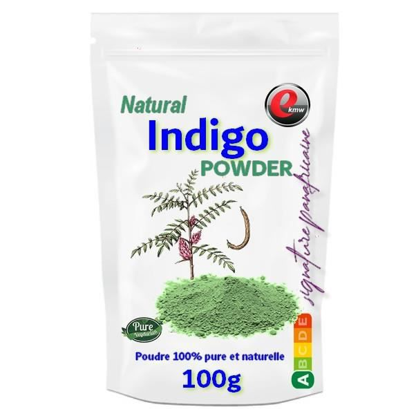 Poudre d'INDIGO - signature panafricaine - 100g