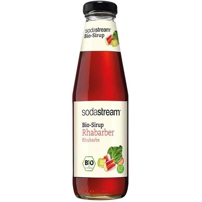 SODASTREAM - Sirop Bio rhubarbe 500ml