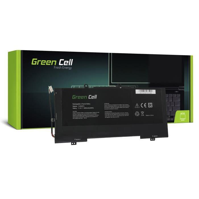 Green Cell® Batterie pour HP Envy 13-D022NF 13-D022TU 13-D023CL 13-D023NF 13-D023TU 13-D024TU 13-D025TU (3900mAh 11.4V)