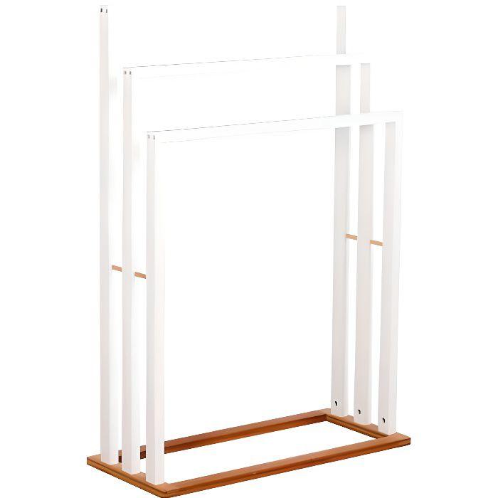 Sèche-serviette Bambou - Blanc