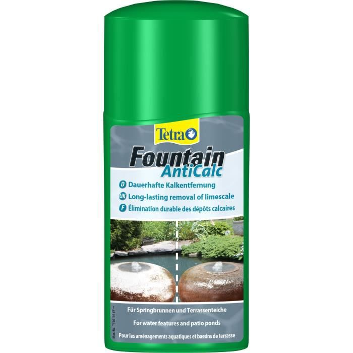 TETRA Pond Fountain AntiCalc - Détartrant poissons de bassins - 250ml