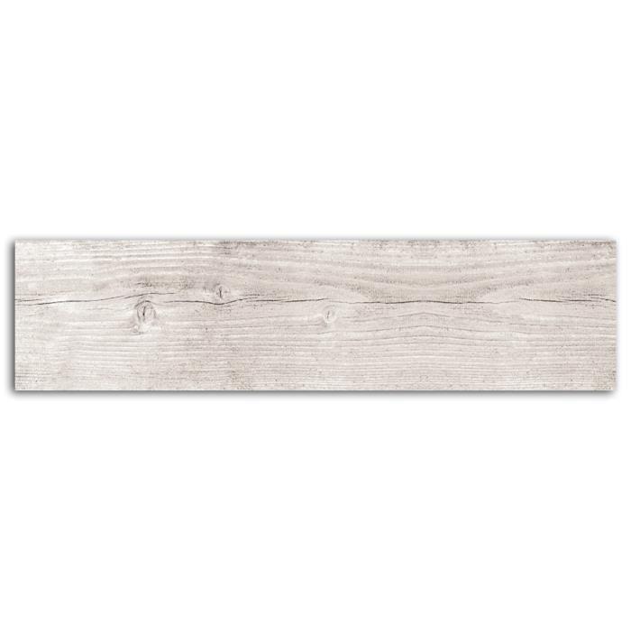 TOGA Rouleau de Masking Tape Imitation Bois - Blanc grisé - 10 m