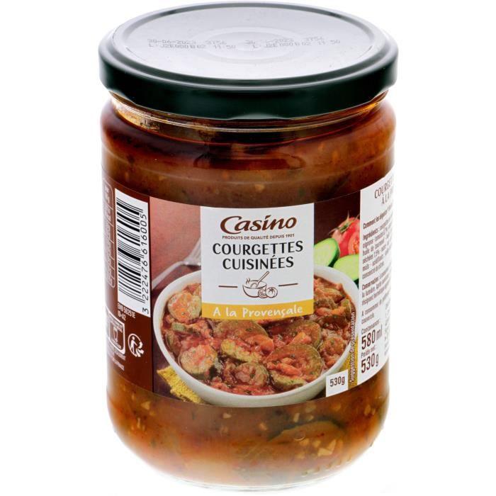 GENERALE DE CONSERVE (COMPAGNIE) Courgette cuisinée - 530 g
