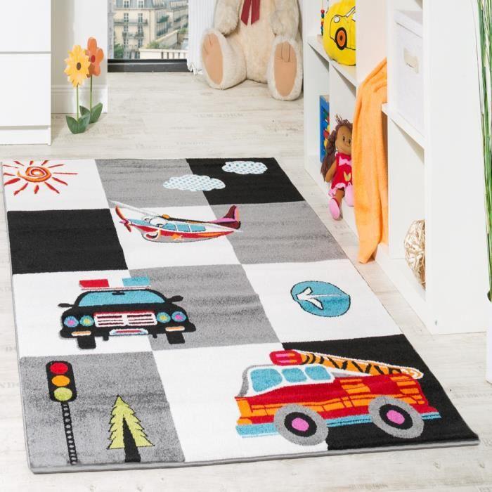 pompiers et voitures set d/écoration dekodino/® Sticker mural police
