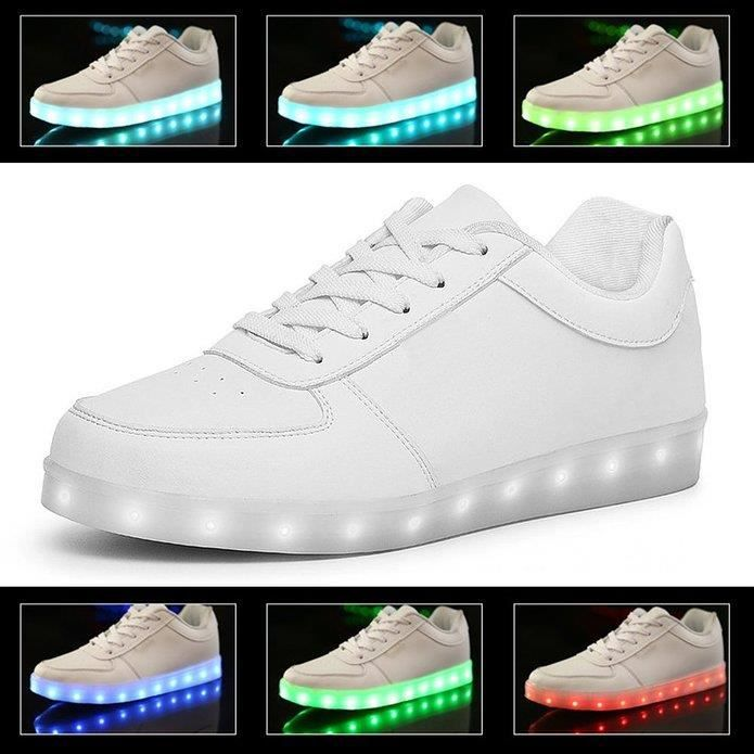7 Couleur Unisexe Homme Femme USB Charge LED 4JkXzzO