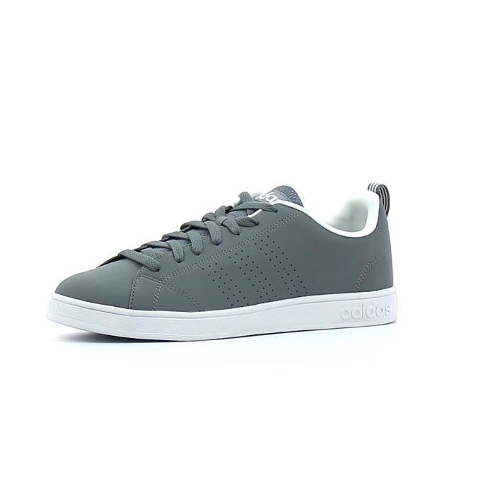 Baskets basses Adidas Adavntage Clean VS Gris Achat
