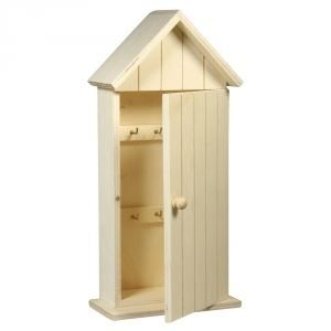 armoire cles cabine de plage bois 30x14x6 5cm achat. Black Bedroom Furniture Sets. Home Design Ideas