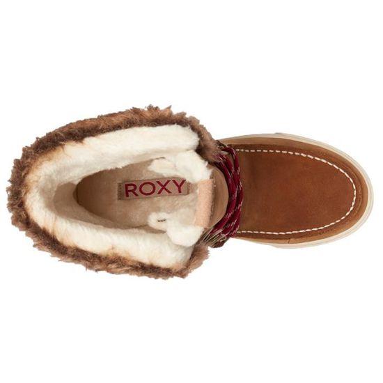 ROXY Rainier Botte De Neige Femme Taille 39 MARRON