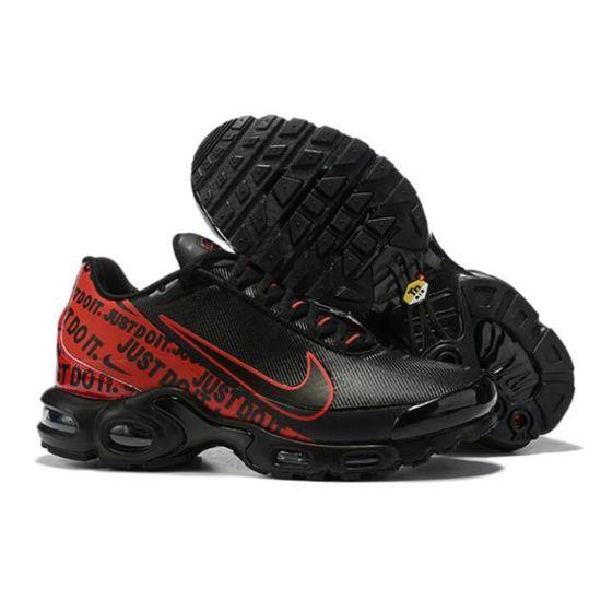 Nike Baskets Air Max Plus Tn Chaussure pour Homme Noir Noir ...