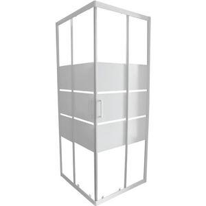 Paroi de douche 90x90 achat vente pas cher - Portes de douche coulissantes ...