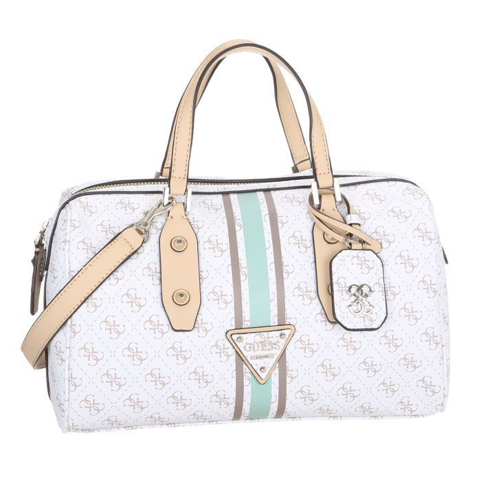 GUESS Sac à main Femme LOGO SPORT LARGE BOX SATCHEL BAG