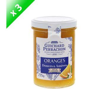 CONFITURE - MARMELADE GUICHARD PERRACHON Confiture d'Oranges Douces Amèr