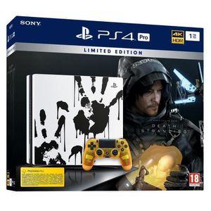 CONSOLE PS4 PS4 Pro 1To Édition Spéciale Death Stranding + Dea