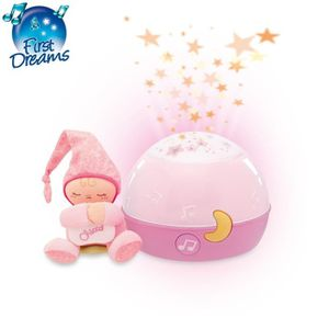 MOBILE CHICCO Ma Lampe Magic'Projection Rose First Dreams