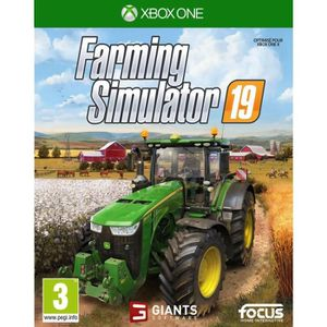 JEU XBOX ONE Farming Simulator 19 Jeu Xbox One