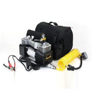 COMPRESSEUR 12V Double cylindre 12V Pompe compresseur d'air de pne