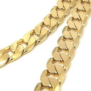 """Ton Or Argent Sterling 925 Miami Cubain Link Chaîne collier épais /& Lourd 26/"""""""