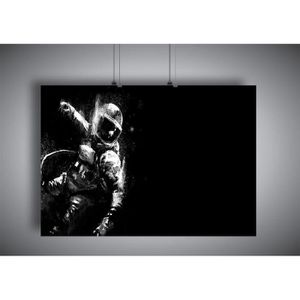 Poster Astronaute Sortie Dans L/'espace Iss Outils Costume 02