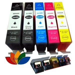 CARTOUCHE IMPRIMANTE 5 Cartouche d'encre rechargeable compatible HPP 36