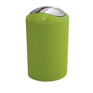 POUBELLE - CORBEILLE 5063625858 Glossy Poubelle À Couvercle Plastique V