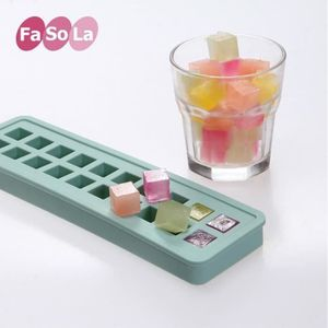 COUPELLE - COUPE GLACE 1 pcs Silicone Glace Cube Glace Cube Moule Glace B