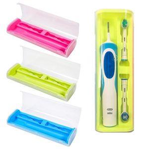 BROSSE A DENTS ÉLEC Boîte de rangement de voyage pour brosse à dents é