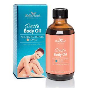 HUILE - LAIT MASSAGE Belle Azul Siesta Body Oil – Huile Corps 100% Natu