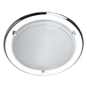 PLAFONNIER MIRAMAR-Applique ou Plafonnier Ø31cm Chrome Brilli