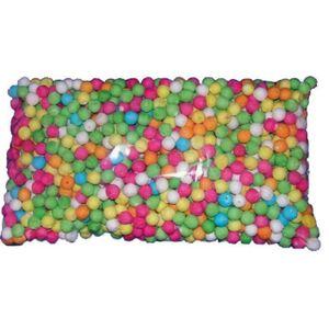 CONFETTIS Sachet de 100 boules multicolores