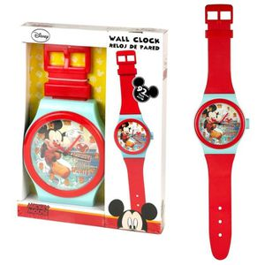 HORLOGE - PENDULE Disney Mickey Mouse - Horloge Pendule Murale Les E