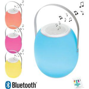 DÉCORATION LUMINEUSE DECOTECH Lampe LED Enceinte Bluetooth® nomade et l