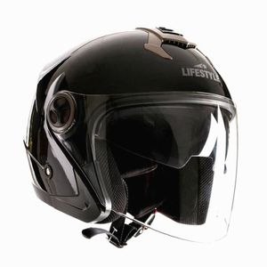 CASQUE MOTO SCOOTER  Neuf Lifestyle - Casque jet moto scooter ville LS