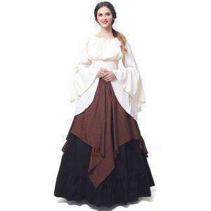DÉGUISEMENT - PANOPLIE MOONMINI Femmes Médiévales Robes Reine Halloween C