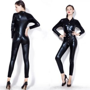 ENSEMBLE DE LINGERIE Sexy Nightclub Bodysuit Vêtements de moto Body en