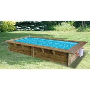 Piscine bois 2x3 for Ubbink piscine bois