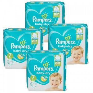 COUCHE 105 Couches Pampers Baby Dry taille 7