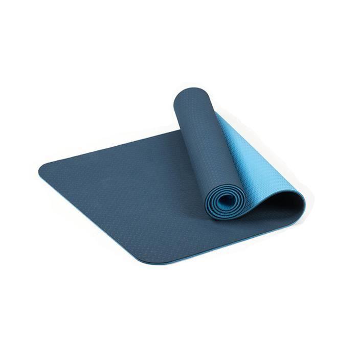 Tapis de yoga classique Yoga Mat Pro TPE Eco Friendly Antiderapant Fitness Tapis d'exercice @sun560