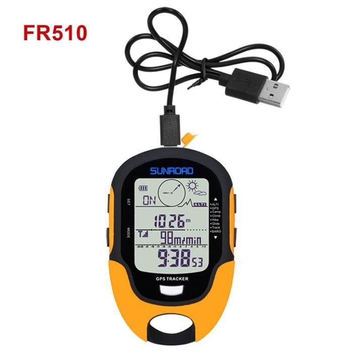 Altimètre GPS numérique, boussole, baromètre, multifonction, LCD, Portable, Camping en plein air, randonnée, escalade [5A3A7E6]