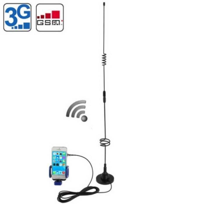 Adaptateur Antenne Wifi 3G Antenne 11Dbi Fme (3G Gsm Cdma) et support d'antenne coupleur universel de téléphone portable