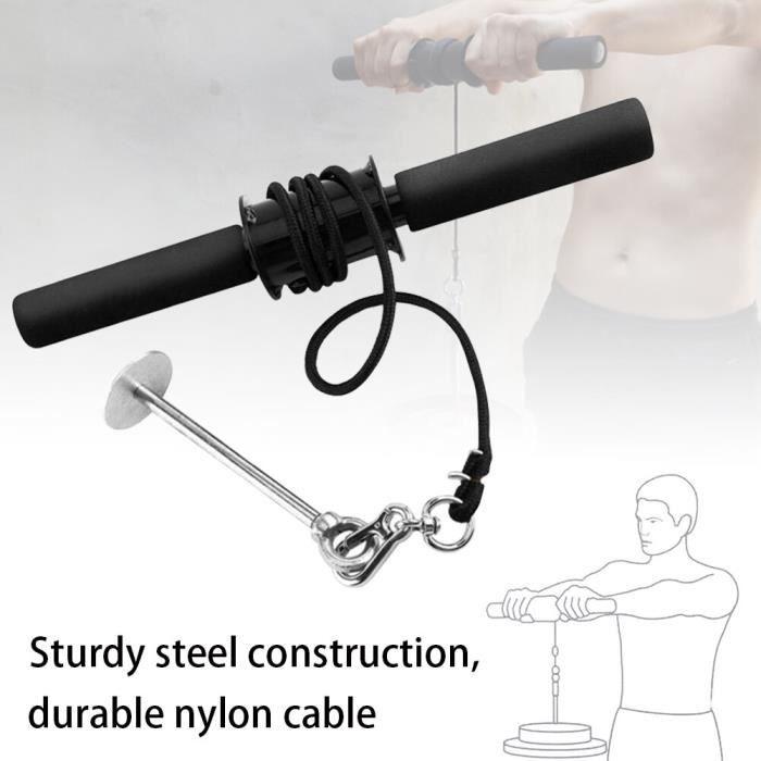 Accessoires Fitness - Musculation,Gymnastique main pince tige avant bras formateur puissance exercice Force Fitness équipement